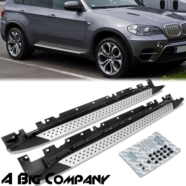 2008 And X5 And Bmw And Nerf And Running Board: FOR 2007-2013 BMW X5 E70 RUNNING BOARD NERF BAR RAIL SIDE