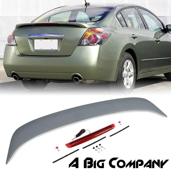 for 2007 2010 nissan altima sedan rear trunk spoiler wing. Black Bedroom Furniture Sets. Home Design Ideas