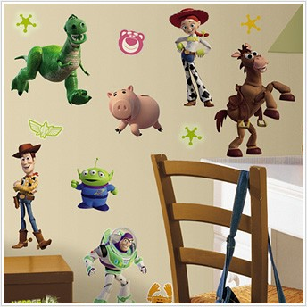 Toy Story Wall Light : Toy Story Wall Decor~Woody,Buzz Lightyear & More~Wallpapers,Borders~USD 15.99 & Up