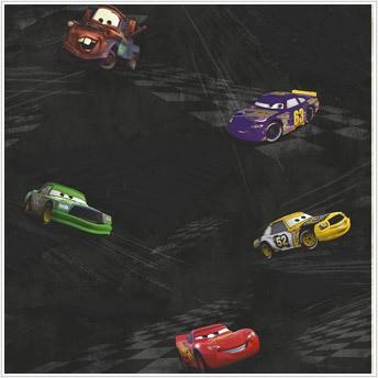 Disney pixar 39 s cars and cars 2 wall decor wallpapers for Disney pixar cars wall mural