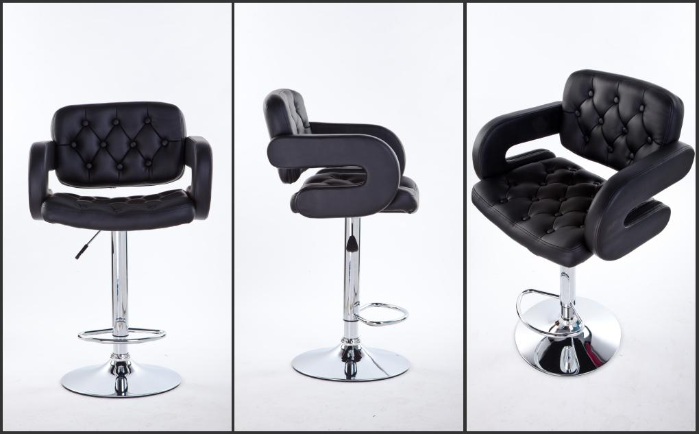 Faux Leather Kitchen Breakfast Bar Stools Chair Ebay