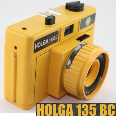 HOLGA-135-BC-Lomo-Multi-Exposure-Film-Camera-Yellow-black-corner-effect-NEW