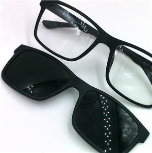 Eyeglass Frames With Magnetic Sunglass Clips : Polarized Magnetic Clip ON Sunglass Eyeglass Spectacle ...