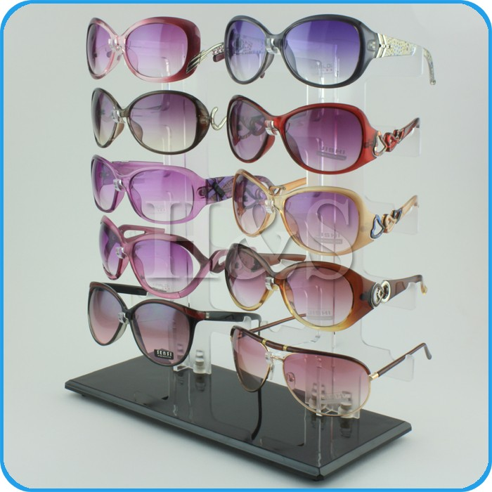 stand up 2 pair eyeglass holder