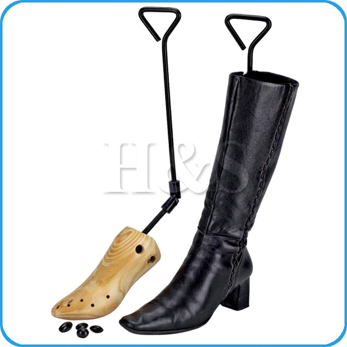 top quality pine wood boot shoe tree stretcher