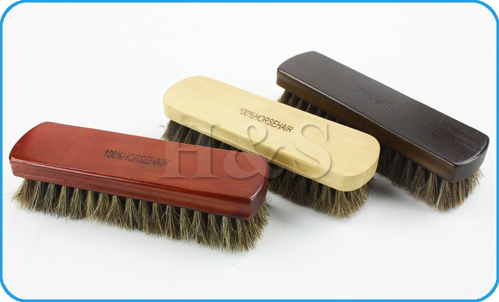 how to clean wooden hair brush bristles
