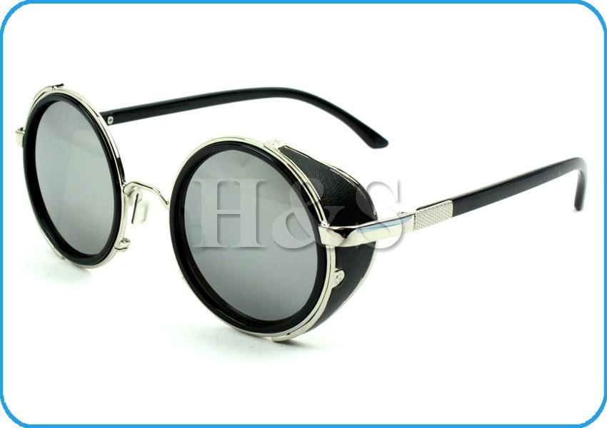 Goggle Style Sunglasses  steampunk sunglasses 50s round glasses cyber goggles vintage retro