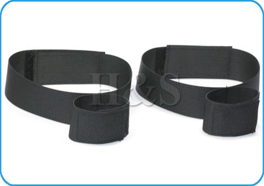 wrist to thigh bondage cuffs strap set kit rope restraints
