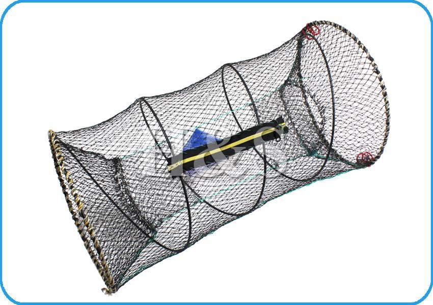 2 x crab fish crayfish lobster shrimp prawn eel live trap for Bait fish trap