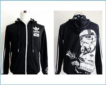 Star Wars Stormtrooper Hoodie Jacket   Adidas Limited Edition   x