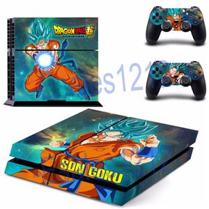 dragon ball z super son goku skin decals sticker for ps4 playstation controllers ebay. Black Bedroom Furniture Sets. Home Design Ideas