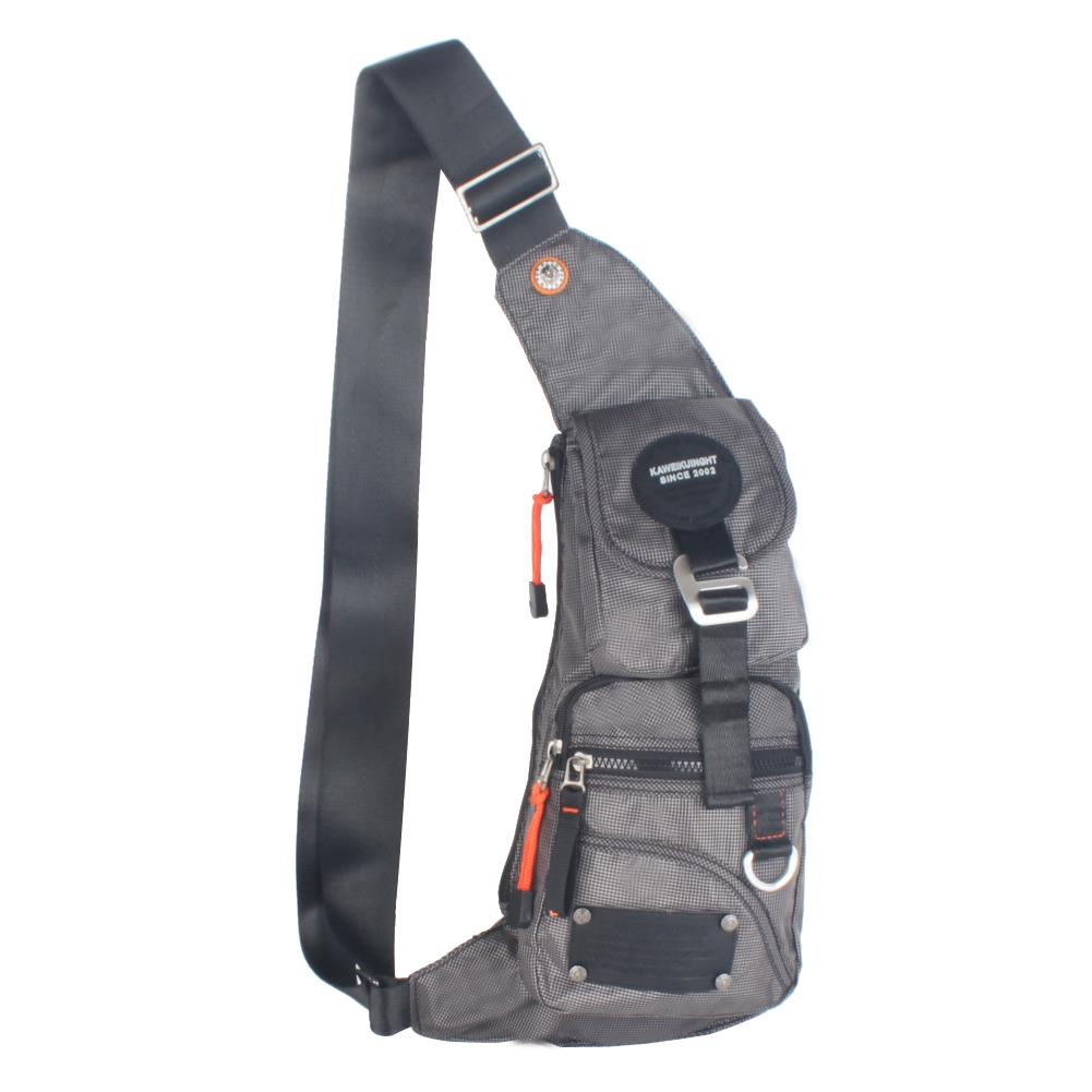 Men's Women's Sling Bag Backpack Chest Shoulder Hiking ...