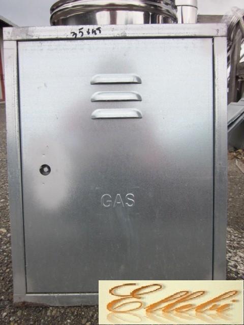 Sportello per contatore gas inox 450x600 ebay for Sportello gas bricoman