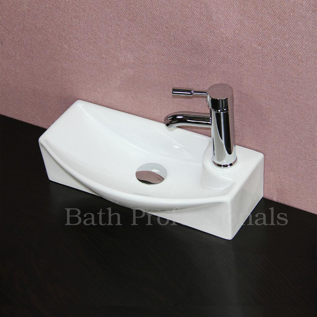 Wash basin sink vanity ceramic wall hung countertop corner for Wash basin bathroom sink