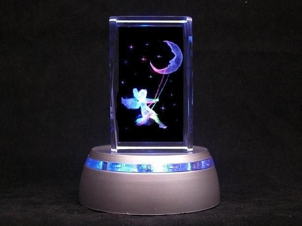 Moon Swing Fairy Baby Nursery Lamp Child Night Light