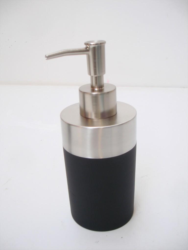 Modern Chrome Bathroom Kitchen Soap Dispenser Toilet Brush