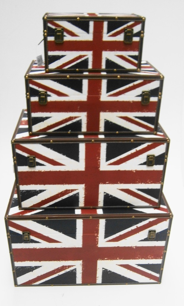 Image is loading UNION-JACK-ENGLAND-STRONG-WOODEN-STORAGE-UNIT-CHEST-