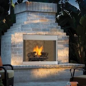 Gas Fireplace Insert Blocks Fireplaces