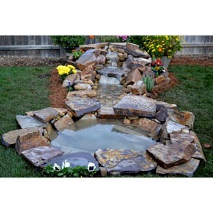 Stream Bed In A Box Waterfall Stream Pond Kit Pvc Hose