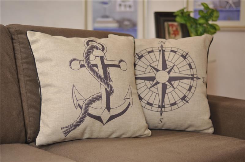 Throw Pillow Covers Nautical : 18