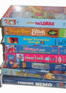 VHS Videos Baby Einstein Educational Disney Elmo Veggie tales + | eBay