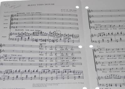 Choral anthem bless this house may brahe satb church choir for Anthem house music