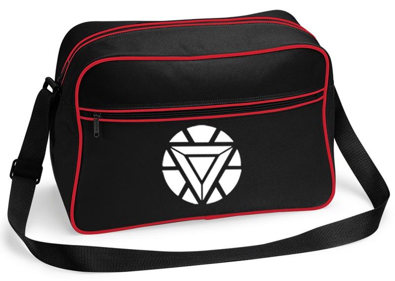 avengers iron man chest light logo bnwt messenger shoulder