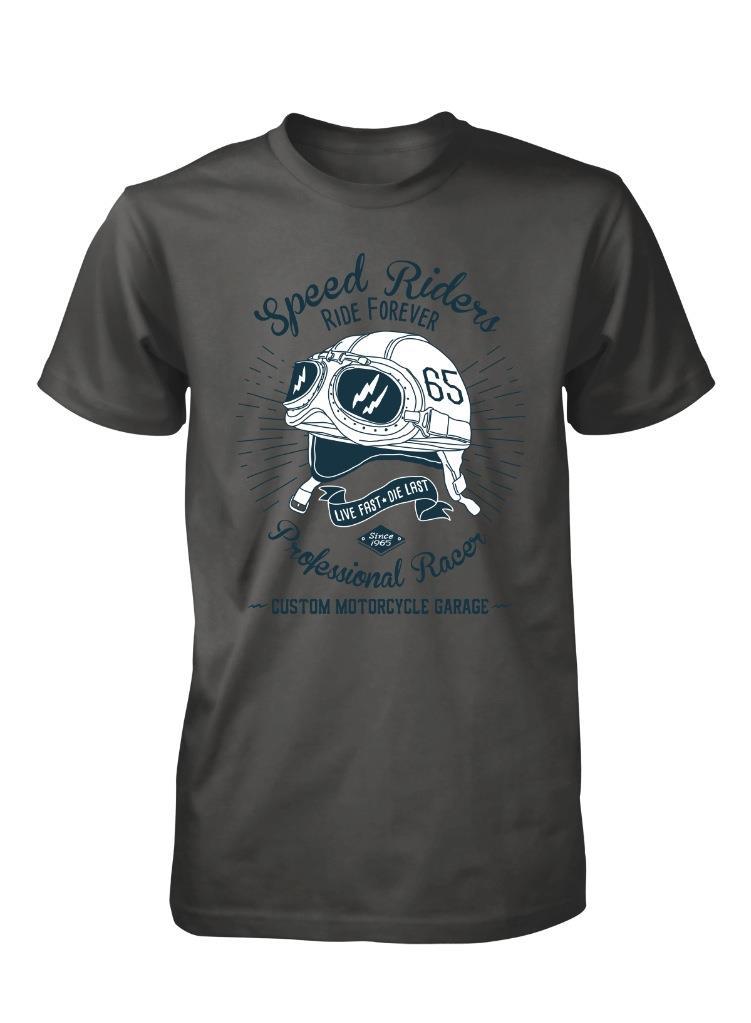 T-shirt casque moto