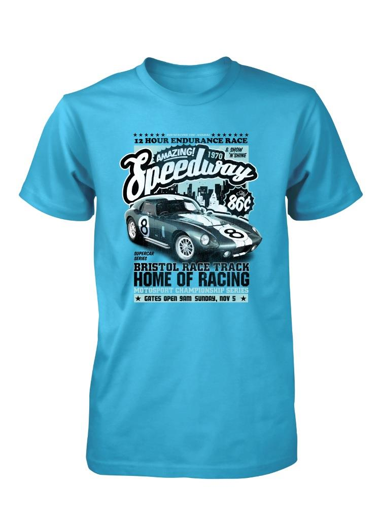 Bnwt amazing speedway bristol race track endurance racing for Bristol raceway t shirts