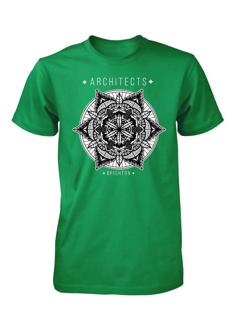 Bnwt architects brighton aztec design pattern adult t for Brighton t shirt printing