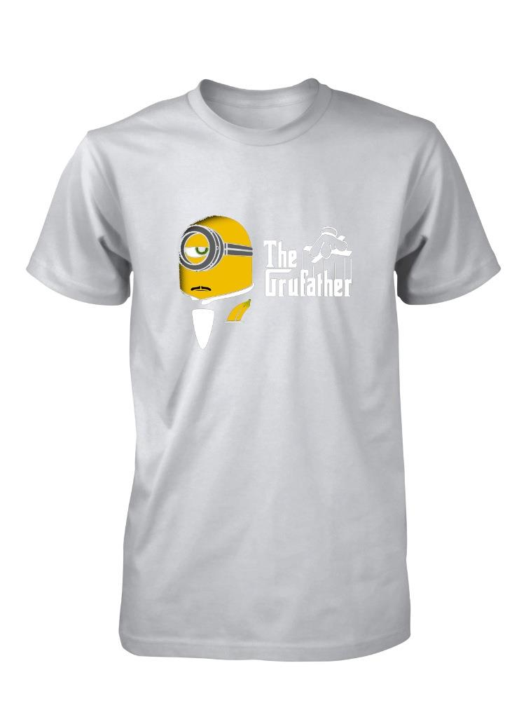 Gru Father Minion The Godfather Inspired Despicable Me Adult T Shirt