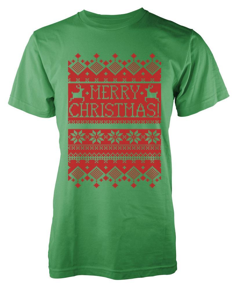 BNWT-8-BIT-BLOCKY-CHRISTMAS-PIXEL-MERRY-XMAS-