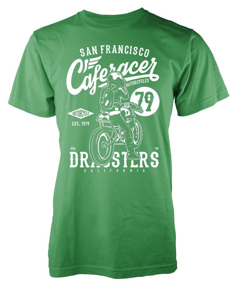 Bnwt Caferacer 79 San Francisco Biker Rider Motorcycle