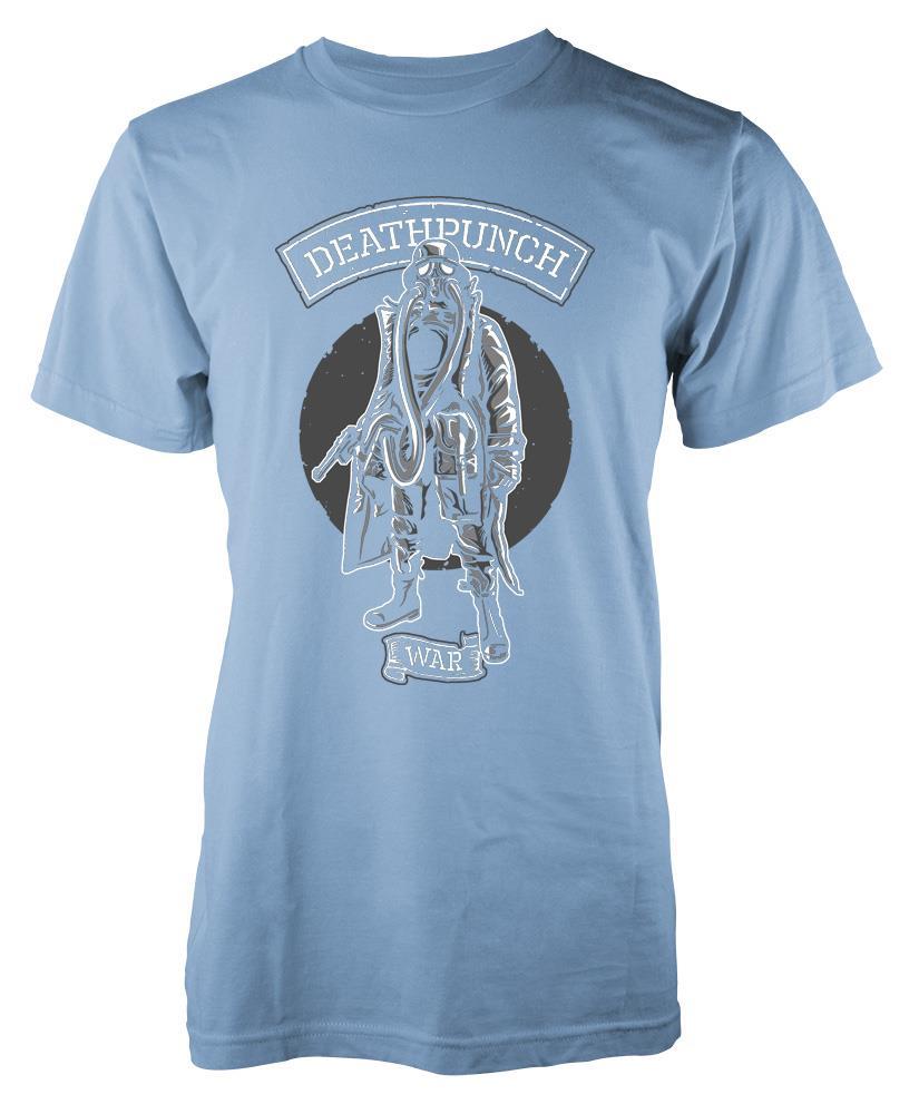 BNWT-MASCHERA-ANTIGAS-soldato-guerra-Pistola-Fucile-T-Shirt-S-XXL