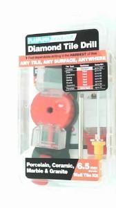 "PLASPLUGS 6.5 MM 1//4/"" DIAMOND TILE DRILL PORCELAIN CERAMIC MARBLE AND GRANITE"