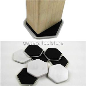 FURNITURE SLIDERS GLIDES CUPS CASTOR FOR STONE LAMINATE WOODEN FLOORS