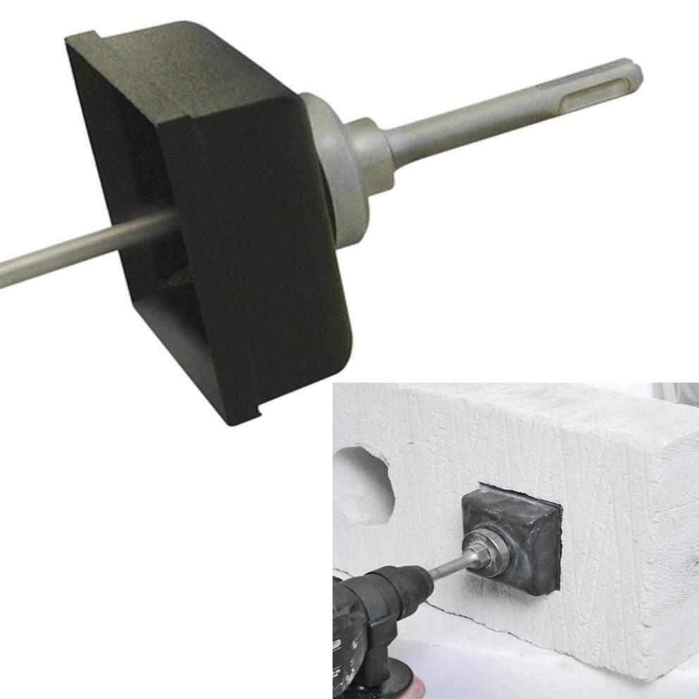 SDS-Taladro-de-montaje-de-pared-electrico-Toma-De-Telefono-agujero-cuadrado-Cortador-de-Caja-Set