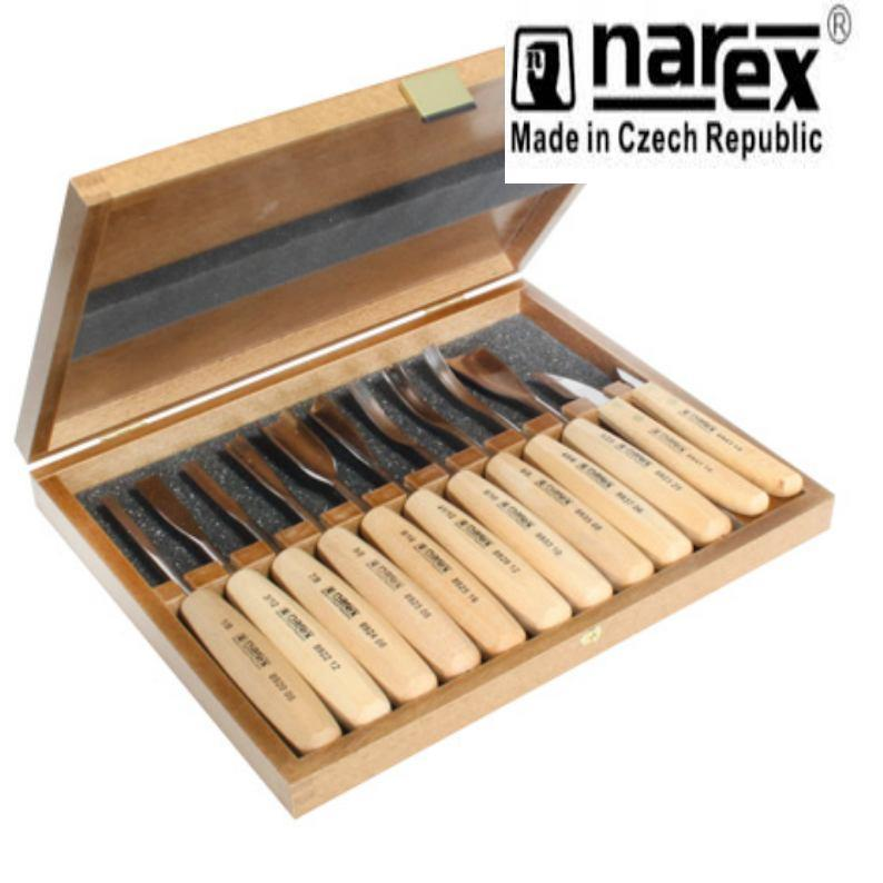 Narex standard pce boxed carving set wood tool