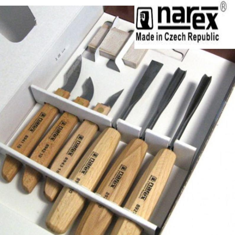 Narex standard piece carving set wood tool