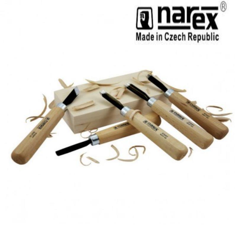 Narex professional starter carving set wood tool