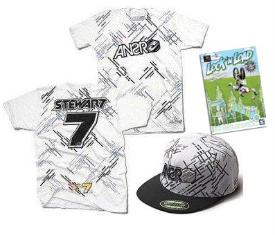 KIDS-MOTORCROSS-JAMES-STEWART-T-SHIRT-HAT-NITRO-CIRCUS-DVD-COMBO-GR8-GIFT