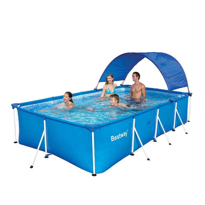 Bestway Above Ground Steel Frame Swimming Pool 163 Ebay