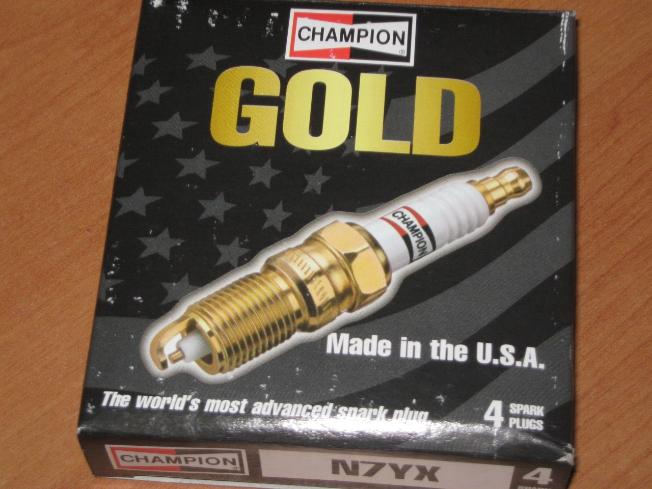 CITROEN-G-Special-GS-Club-Dino-Champion-GOLD-Spark-Plugs-x-4-NOS-N7YX-PN48