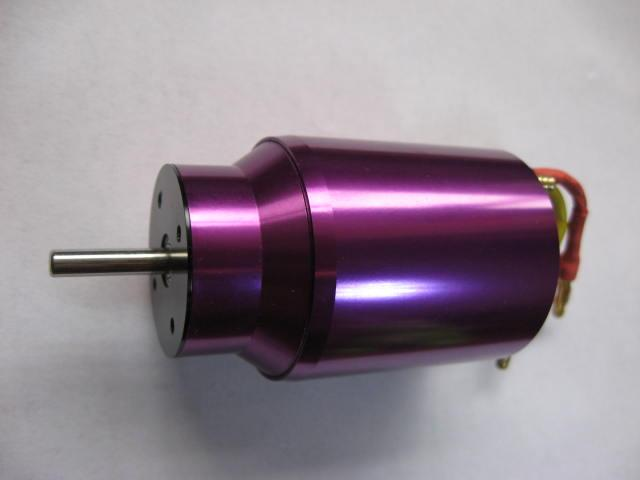 Water Cool 540size BL3674 KV1800 brushless motor for RC Boot