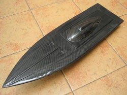 Hurricane Racing MONO2 Carbon Fiber Boat Hull