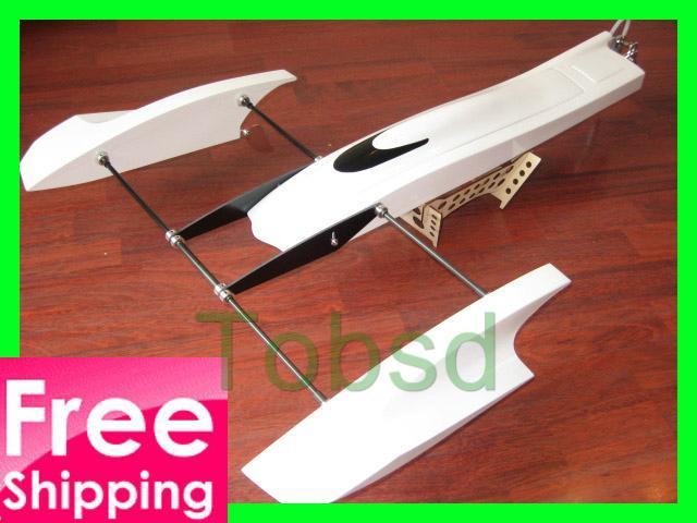 33 inch Poseidon FibreGlass Outrigger Rc Boat Hydroplane Kit Hydro Rigger
