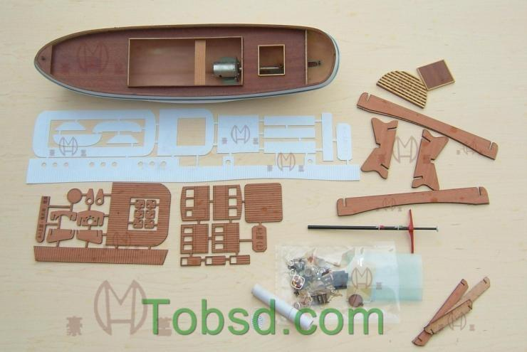 RC Savannah Harbor Tug Boat Tugboat Ship Kit