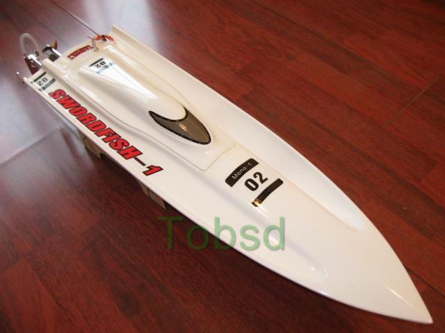 29 inches Thunder EP Fibreglass Mono 1 ARTR Racing Boat