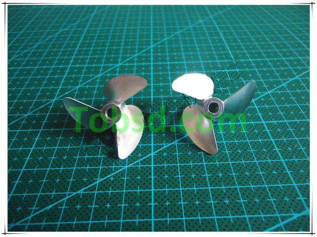 3 blades Dia 36mm CNC One pair left + right Propellers