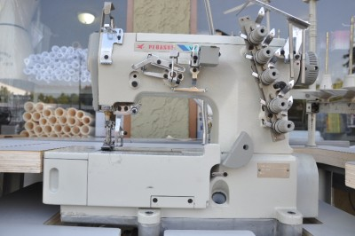Pegasus w 500 industrial coverstitch sewing machine ids611 for Sewing machine motor manufacturers